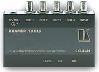 Усилитель-распределитель 1:4 композитных видеосигналов Kramer 104LN