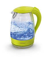 Электрический чайник ESPERANZA стеклянный SALTO ANGEL 1.7 L зеленый