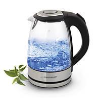 Электрический чайник ESPERANZA стеклянный YOSEMITE 1.7 L черный