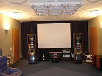 Установка и монтаж домашних кинотеатров