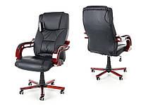 Офисное массажное кресло PRESIDENT черное