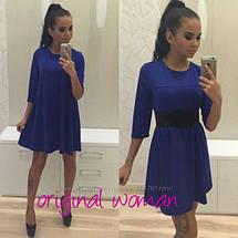 Платье-трапеция A-силуэт в расцветках 48-50, 50-52, фото 3