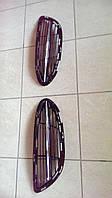 Боковые решетки в передний бампер Mercedes W222 A2228852321