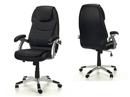 Офисное массажное кресло THORNET черное, фото 2