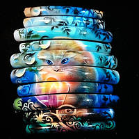 Краски и трафареты для маникюра (nail art)