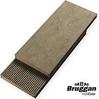 Террасная доска Bruggan Multicolor GREY 130х19х2200 мм