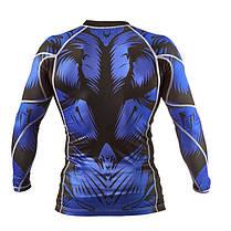 Рашгард Peresvit Beast Silver Force Rashguard Long Sleeve Blue, фото 2