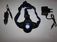 Налобный светодиодный фонарь Police 177
