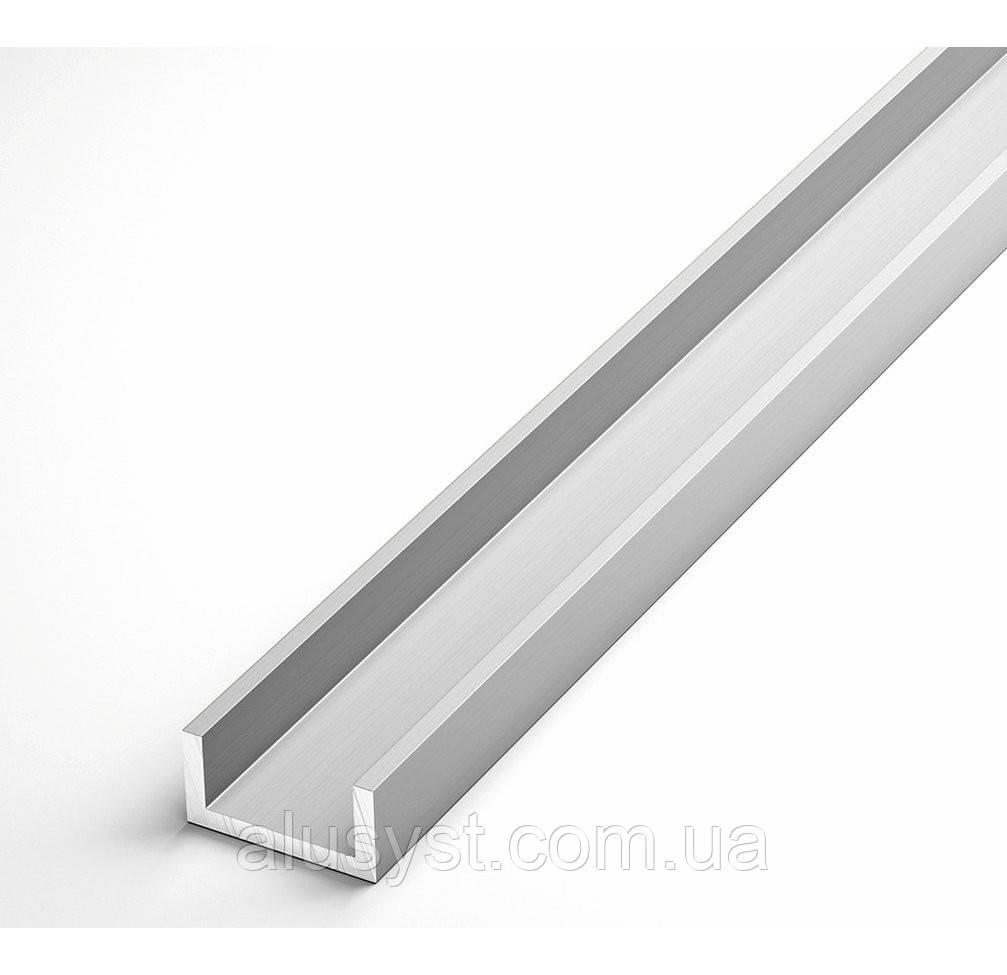 Алюминиевый швеллер ПАС-1779 13х15х1.5 / AS