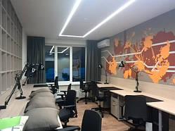 Оформление офисных зон, перегородок и кабинетов 7