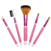 Набор макияжных кистей с декоративной ручкой, 5 предметов (в ассортименте)