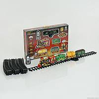 ЖД 2420 (8) р/у, свет, звук, дым, 21 дет, на батарейке, в коробке