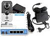 Комплект IP камеры видеонаблюдения Hikvision DS-2CD1410F-IW (2.8) Wi-Fi с БП, роутером для облачного сервиса