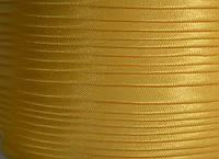 "Бейка косая ""Kotex""№8009-1 желт атласная 110 ярд. (100,60 м)"