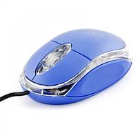 Мышь проводная оптическая 3D TITANUM USB голубая