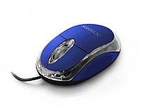 Мышь проводная оптическая 3D USB EXTREME CAMILLE голубая