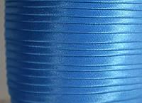 "Бейка косая ""Kotex""№8086(голубая) атласная 110 ярд. (100,60 м)"