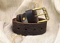Ремень мужской кожаный из натуральной кожи