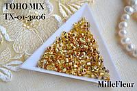 Японский бисер TOHO MIX (10 грамм) 10 гр., TX-01-3206