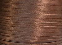 "Бейка косая ""Kotex""№8143(коричневый) атласная 110 ярд. (100,60 м)"