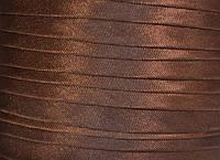 "Бейка косая ""Kotex""№8145(коричневый) атласная 110 ярд. (100,60 м)"