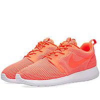 Оригинальные  кроссовки Nike Roshe One Hyperfuse BR Total Crimson & White
