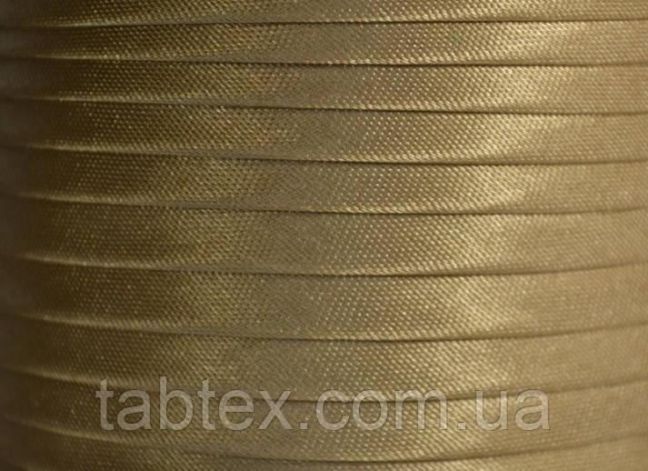 "Бейка косая ""Kotex""№8172(бежевый) атласная 110 ярд. (100,60 м)"