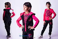 Подростковый спортивный костюм тройка Style Sportivity мальчик / девочка трехнитка