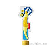 Набор ручка для левши + стержни Stabilo Easy original желтый/лимон