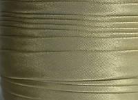 "Бейка косая ""Kotex""№8173(бежевый) атласная 110 ярд. (100,60 м)"
