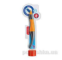 Набор ручка для правши + стержни Stabilo Easy original оранжевый/антрацит