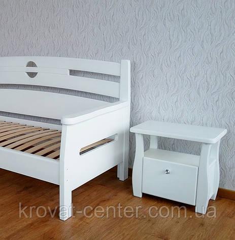 """Белая деревянная тумбочка """"Грета Вульф"""", фото 2"""