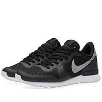 Оригинальные  кроссовки Nike Internationalist NS Black & Metallic Silver