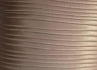 """Бейка косая """"Kotex""""№8183(св.бежевый) атласная 110 ярд. (100,60 м)"""