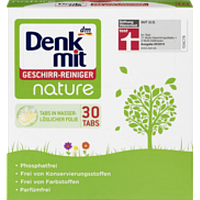 Таблетки для посудомойки DenkMit Nature 30шт.