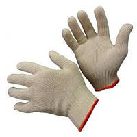 Перчатки х/б вязаные без ПВХ тчк