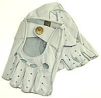 Перчатки женские автомобильные кожаные