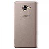 Чехол-книжка Samsung S View Cover для Samsung Galaxy S7 золотой