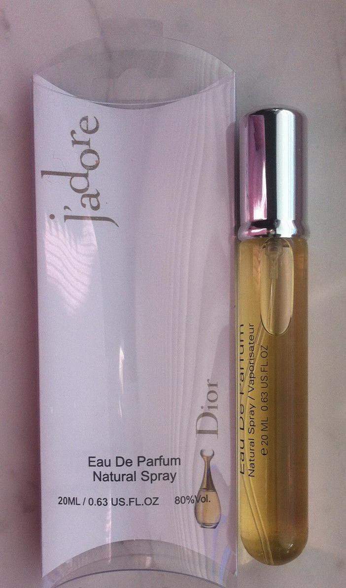 Женский Мини парфюм Christian Dior J'adore (Кристиан Диор Жадор) 20 мл