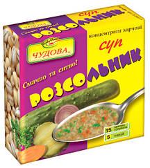 """Суп рассольник """"Чудова"""" брикет 160 гр"""