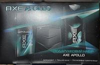 Набор косметики Axe Apollo (гель для душа, аниперспирант аэрозоль, эксклюзивная туалетная вода)