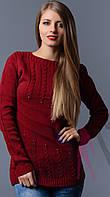 Женский свитер вязка оптом, фото 1