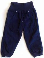 Штаны детские брюки вельветовые Lupilu для мальчика на девочку теплые