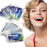 Уникальные отбеливающие полоски зубов Teeth Whitening мята это работает, фото 3