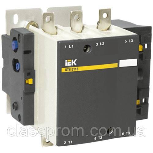Контактор КТІ-6400 400А 380В/АС3 IEK