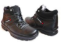 Мужские зимние ботинки Коламбия кожзам 40р.