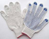 Перчатки х/б вязаные с ПВХ тчк