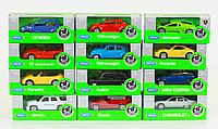 Модель  металлическая 1:60-64 WELLY (VW 52020W-A Volkswagen)