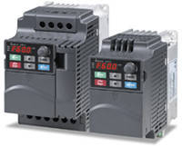 Преобразователь частоты (0,4kW 220V) VFD004E21T, фото 2