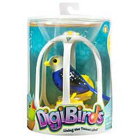 Интерактивная поющая птичка со свистком в клетке Сумерки DigiBirds Bird with Bird Cage Twilight, фото 1